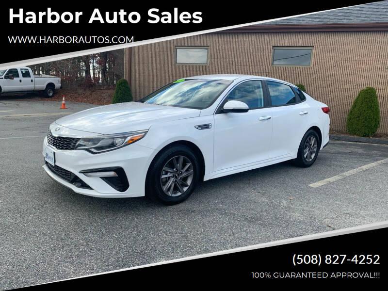 2020 Kia Optima for sale at Harbor Auto Sales in Hyannis MA