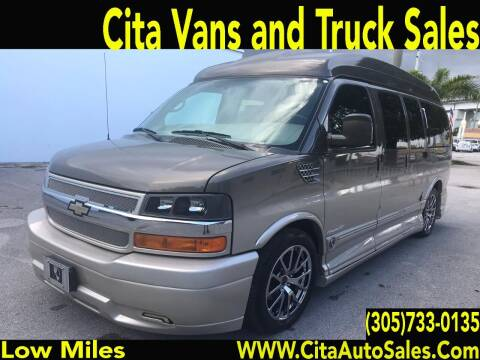 2014 CHEVROLET EXPRESS 1500 HI TOP CONVERSION VAN for sale at Cita Auto Sales in Medley FL