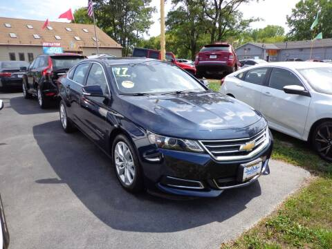 2017 Chevrolet Impala for sale at North American Credit Inc. in Waukegan IL