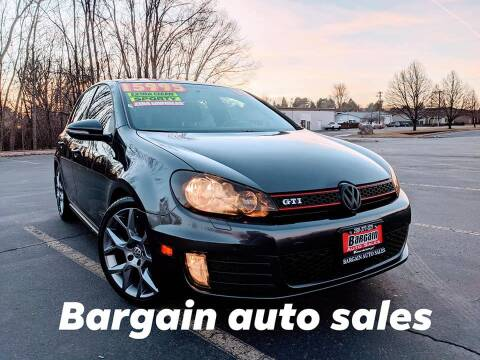 2014 Volkswagen GTI for sale at Bargain Auto Sales LLC in Garden City ID