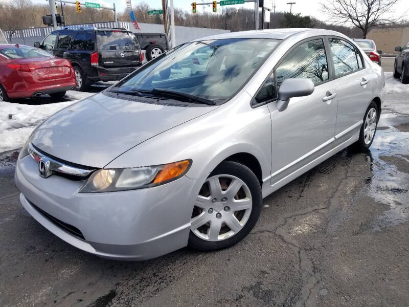 2006 Honda Civic for sale at Cedar Auto Group LLC in Akron OH