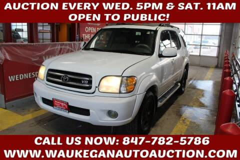 2001 Toyota Sequoia for sale at Waukegan Auto Auction in Waukegan IL