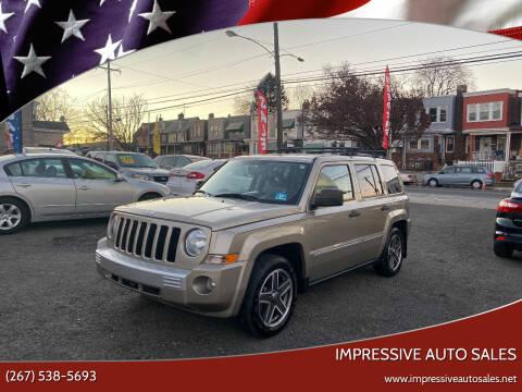 2009 Jeep Patriot for sale at Impressive Auto Sales in Philadelphia PA