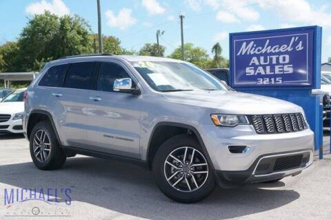 2020 Jeep Grand Cherokee for sale at Michael's Auto Sales Corp in Hollywood FL