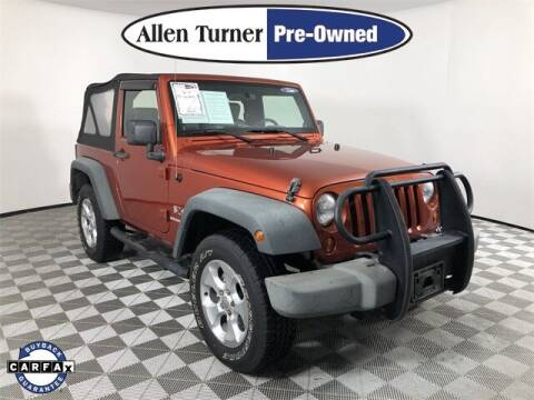 2009 Jeep Wrangler for sale at Allen Turner Hyundai in Pensacola FL