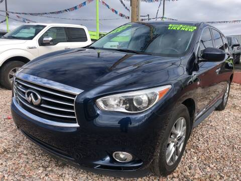 2015 Infiniti QX60 for sale at 1st Quality Motors LLC in Gallup NM