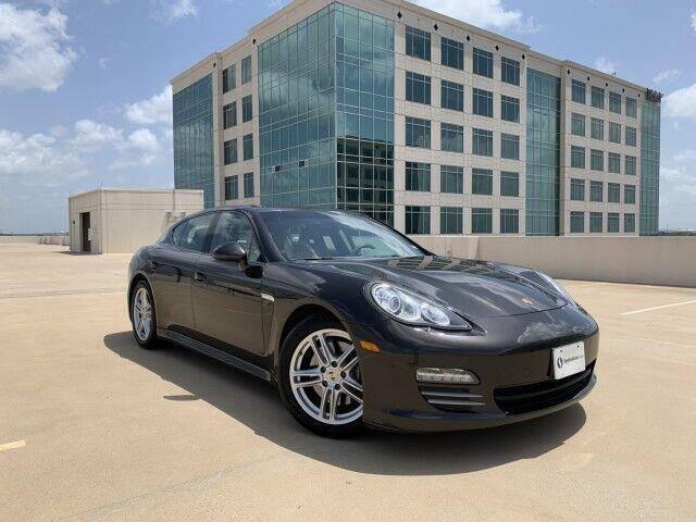2011 Porsche Panamera for sale at SIGNATURE Sales & Consignment in Austin TX