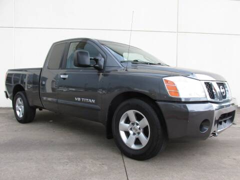 2007 Nissan Titan for sale at QUALITY MOTORCARS in Richmond TX