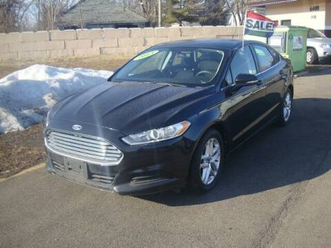 2013 Ford Fusion for sale at MOTORAMA INC in Detroit MI