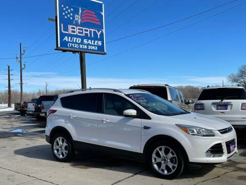 2014 Ford Escape for sale at Liberty Auto Sales in Merrill IA