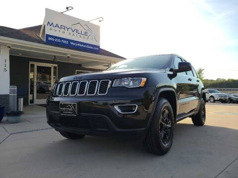 2017 Jeep Grand Cherokee for sale at Maryville Auto Sales in Maryville TN