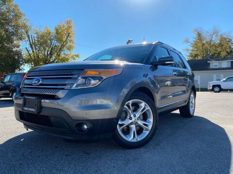2014 Ford Explorer for sale at Total Eclipse Auto Sales & Service in Red Bud IL
