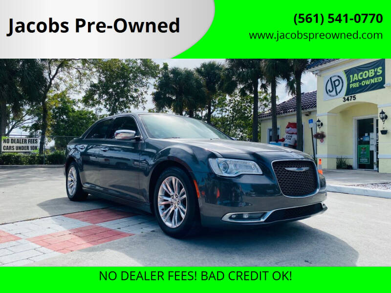 2017 Chrysler 300 for sale at Jacobs Pre-Owned in Lake Worth FL