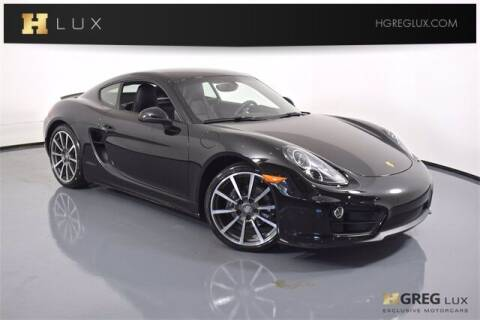 2016 Porsche Cayman for sale at HGREG LUX EXCLUSIVE MOTORCARS in Pompano Beach FL