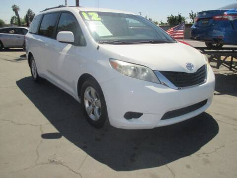 2012 Toyota Sienna for sale at Quick Auto Sales in Modesto CA