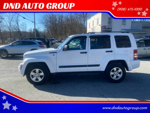 2012 Jeep Liberty for sale at DND AUTO GROUP in Belvidere NJ