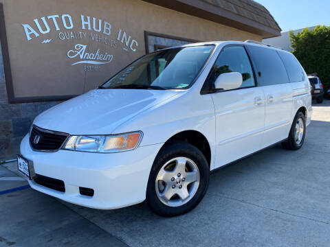2001 Honda Odyssey for sale at Auto Hub, Inc. in Anaheim CA