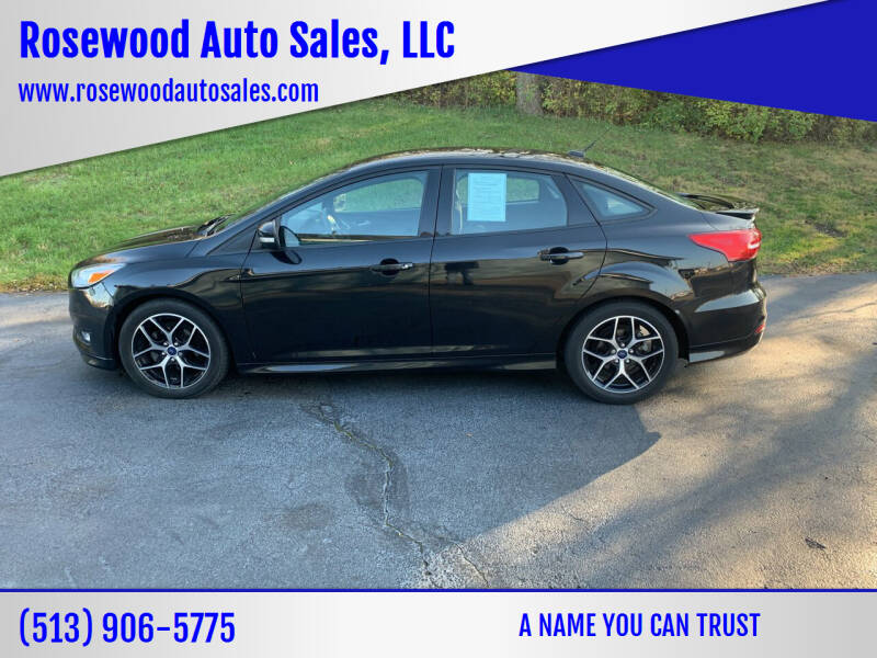 2015 Ford Focus for sale at Rosewood Auto Sales, LLC in Hamilton OH