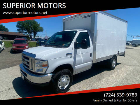 2013 Ford E-Series Chassis for sale at SUPERIOR MOTORS in Latrobe PA