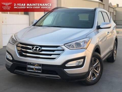 2014 Hyundai Santa Fe Sport for sale at European Motors Inc in Plano TX
