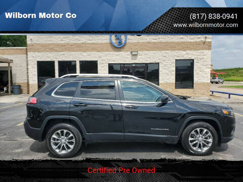2019 Jeep Cherokee for sale at Wilborn Motor Co in Fort Worth TX