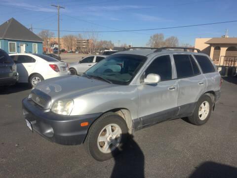 2002 Hyundai Santa Fe for sale at Creekside Auto Sales in Pocatello ID