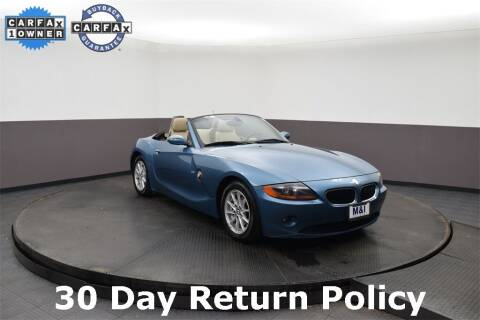2003 BMW Z4 for sale at M & I Imports in Highland Park IL