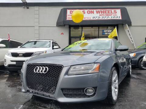 2012 Audi A5 for sale at Deals On Wheels Auto Group in Irvington NJ