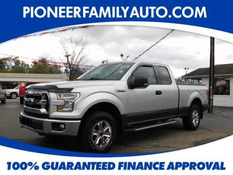 2016 Ford F-150 for sale at Pioneer Family auto in Marietta OH