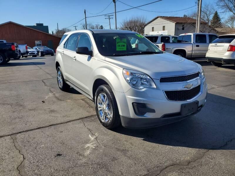 2015 Chevrolet Equinox for sale at Haldane Custom in Polo IL