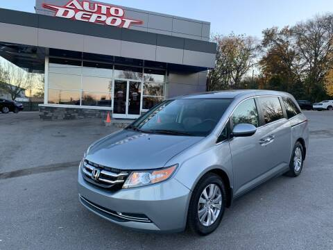 2016 Honda Odyssey for sale at Auto Depot - Nashville in Nashville TN