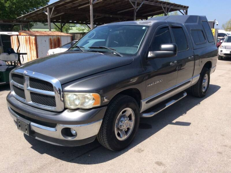 2003 Dodge Ram Pickup 2500 for sale at OASIS PARK & SELL in Spring TX