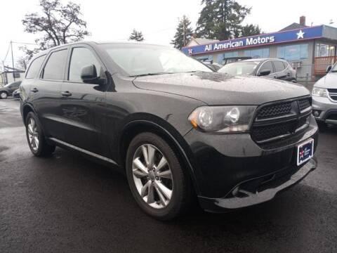 2012 Dodge Durango for sale at All American Motors in Tacoma WA