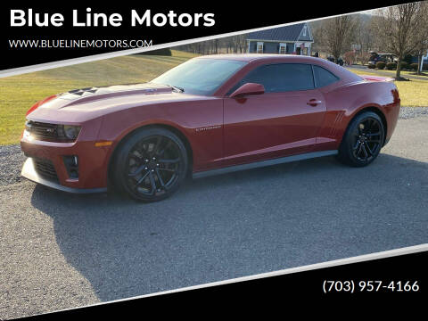 2015 Chevrolet Camaro for sale at Blue Line Motors in Winchester VA