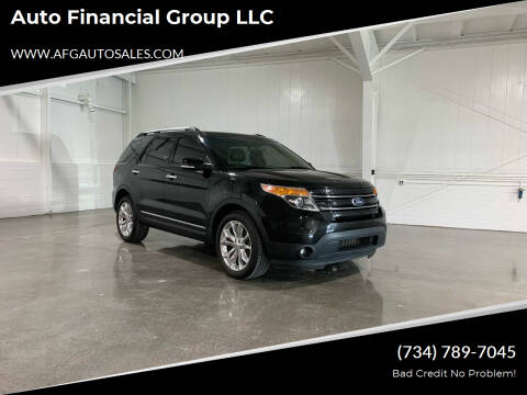 2011 Ford Explorer for sale at Auto Financial Group LLC in Flat Rock MI