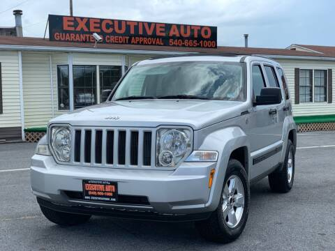 2010 Jeep Liberty for sale at Executive Auto in Winchester VA