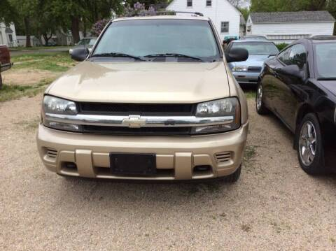 2005 Chevrolet TrailBlazer for sale at Kimpton Auto Sales in Wells MN