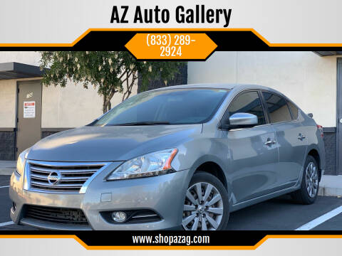 2014 Nissan Sentra for sale at AZ Auto Gallery in Mesa AZ