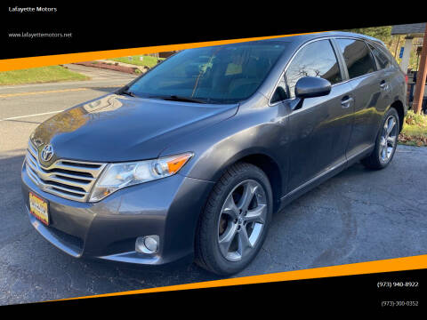 2011 Toyota Venza for sale at Lafayette Motors in Lafayette NJ