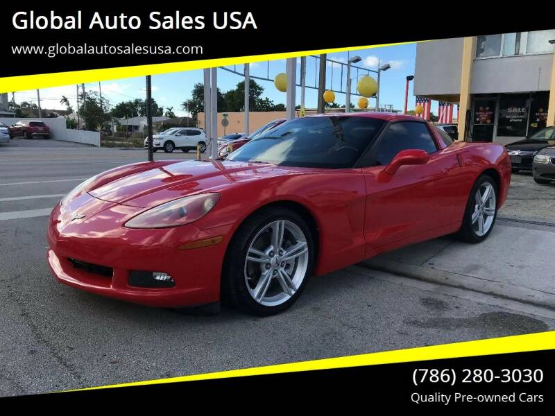 2010 Chevrolet Corvette for sale at Global Auto Sales USA in Miami FL
