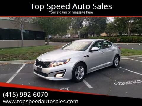 2015 Kia Optima for sale at Top Speed Auto Sales in Fremont CA