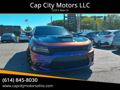2018 Dodge Charger for sale at Cap City Motors LLC in Columbus OH
