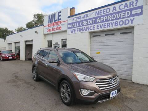 2013 Hyundai Santa Fe for sale at Nile Auto Sales in Denver CO