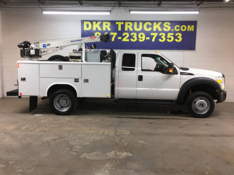 2015 Ford F-450 Super Cab 6.8L V10w/Auto for sale at DKR Trucks in Arlington TX