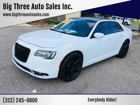 2016 Chrysler 300 for sale at Big Three Auto Sales Inc. in Detroit MI