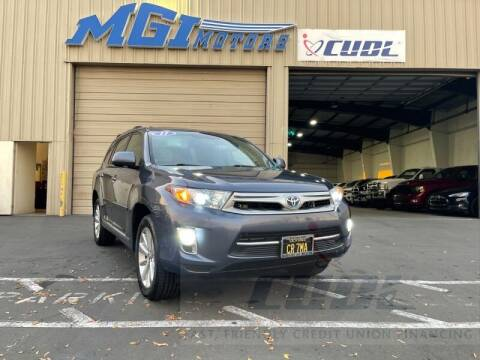 2011 Toyota Highlander Hybrid for sale at MGI Motors in Sacramento CA