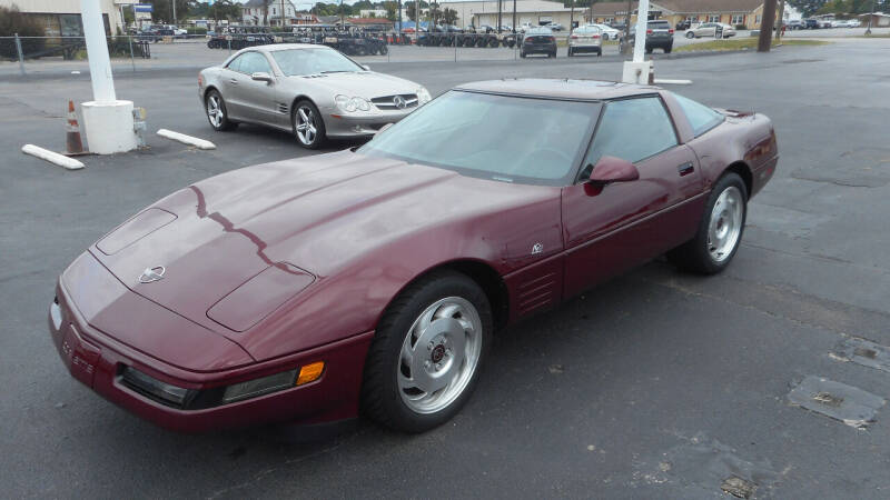 1993 Chevrolet Corvette for sale at Classic Connections in Greenville NC