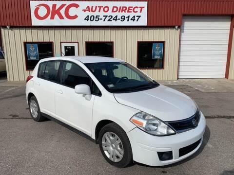 2010 Nissan Versa for sale at OKC Auto Direct in Oklahoma City OK