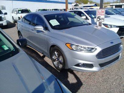 2016 Ford Fusion Hybrid for sale at 1ST AUTO & MARINE in Apache Junction AZ