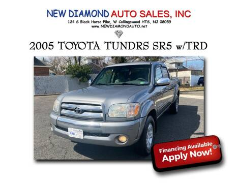 2005 Toyota Tundra for sale at New Diamond Auto Sales, INC in West Collingswood NJ